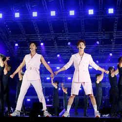 東方神起(左から)ユンホ、チャンミン (写真提供:avex)
