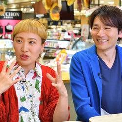V6長野博、告白に照れ笑い 丸山桂里奈「本当に好きになっちゃう」