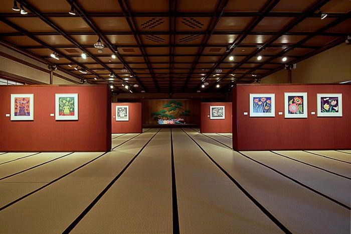 第4展示室 花の間/画像提供:フォーエバー現代美術館 祇園・京都