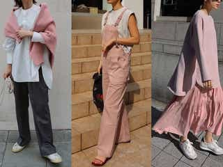 今年はとにかくピンクが着たい!簡単なのにこなれる「大人のピンクコーデ」