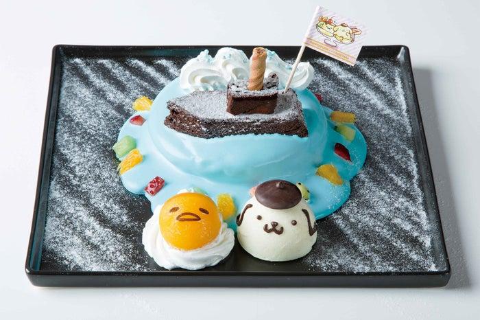 冒険へ出発~!なかよしパンケーキ 1,190円(C)1996, 2013, 2018 SANRIO CO., LTD. APPROVAL NO.S591789