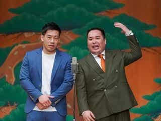 ミルクボーイ&ミキ&中川家、観世能楽堂の舞台で漫才初披露 若手狂言師・野村太一郎らと競演