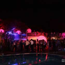 ラグジュアリーな雰囲気たっぷり/「TGC 2013 A/W AFTER PARTY TGC Night Pool Party」(C)TGC Night Pool Party 2013