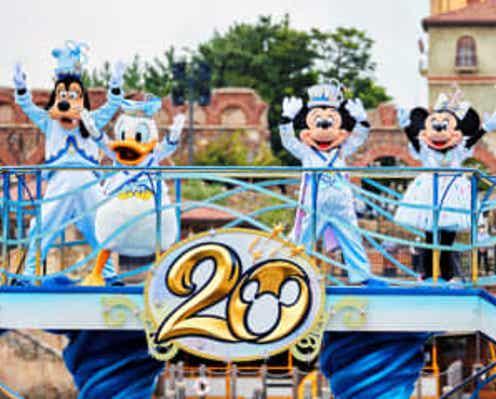 ディズニーシー開園20周年 記念イベント「タイム・トゥ・シャイン!」スタート 記念グッズや特別メニューも