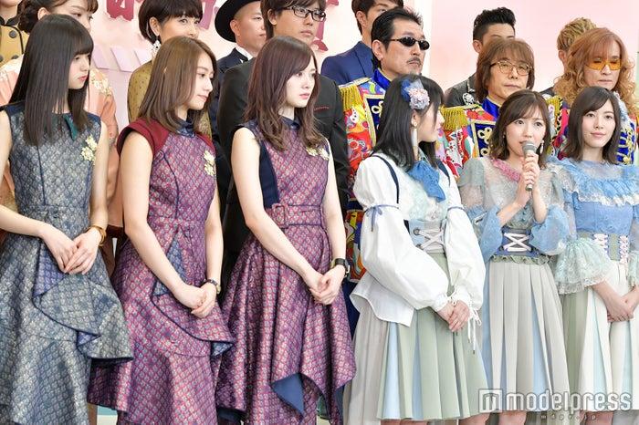 乃木坂46、AKB48 (C)モデルプレス