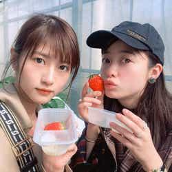 モデルプレス - 橋本環奈、若月佑美とイチゴ狩り 清野菜名と3人で鍋パ約束