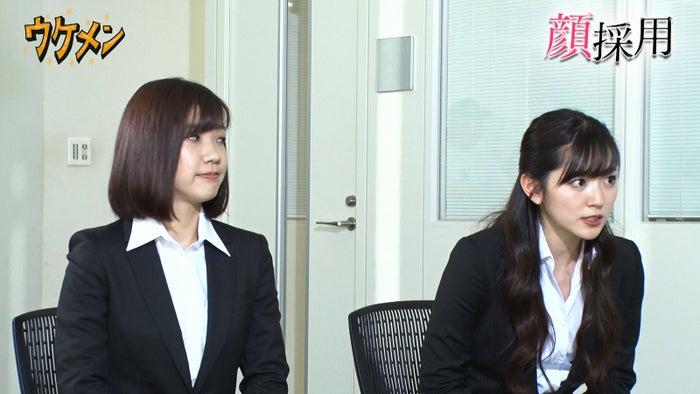 福田麻貴、鈴木愛理(C)フジテレビ