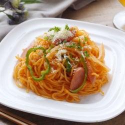 【すぐ麺】レンジで簡単「もちもち食感のナポリタン焼きそば」レシピ