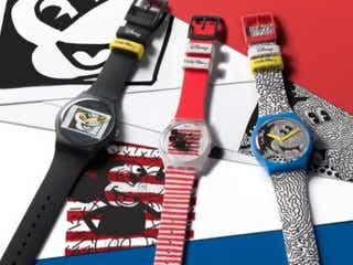 アートを毎日身につけよう! 「スウォッチ」からミッキーマウス×キース・ヘリング コレクションが登場。