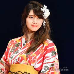 「TGC TOYAMA 2018 by TOKYO GIRLS COLLECTION」に出演したアンジェラ芽衣 (C)モデルプレス