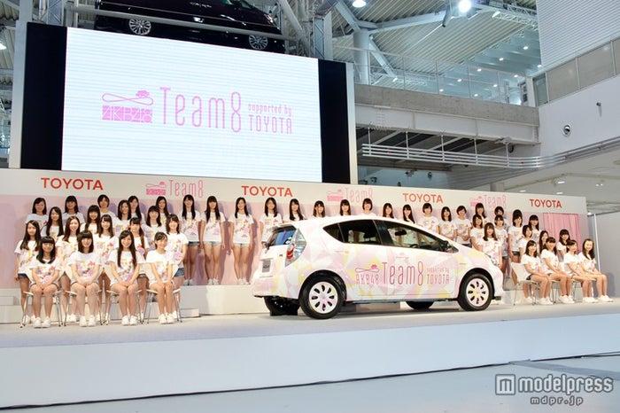 AKB48の5番目のグループ「Team 8」が、初お披露目