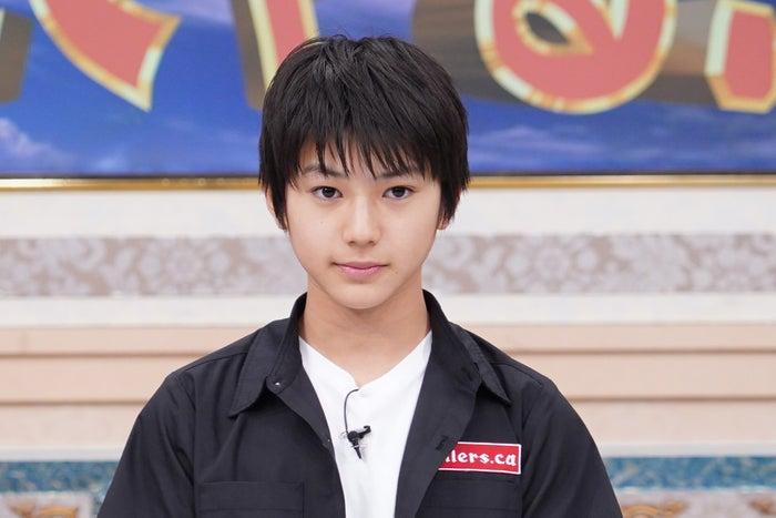 荒木飛羽(C)日本テレビ