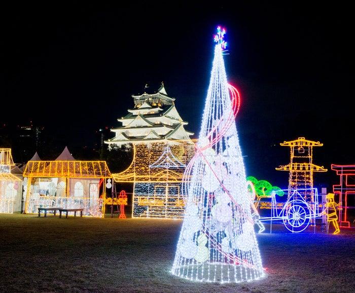 大阪城イルミナージュ/画像提供:大阪城イルミナージュ事務局