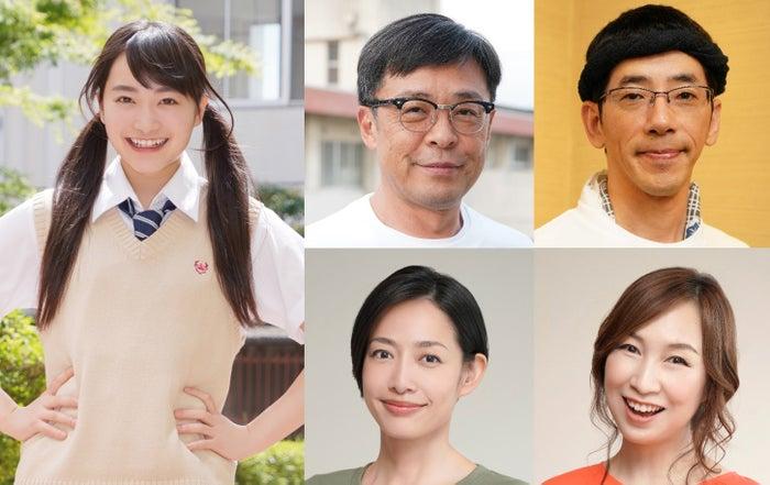 左から時計回りに:福田愛依、光石研、野間口徹、森口博子、原沙知絵(C)FBS福岡放送