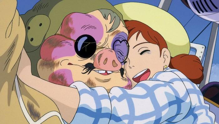「紅の豚のワンシーン」(C)1992 Studio Ghibli・NN