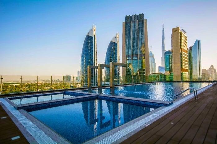 """""""世界一の高層ホテル""""「ゲボラホテル」ドバイに開業、ギネスにも認定/画像提供:Gevora Hotel"""