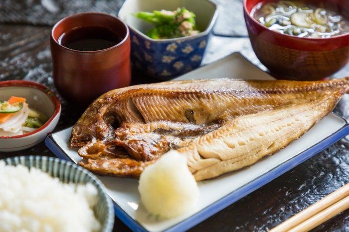 定食あさひ/ほっけ定食950円/画像提供:ジェイアール東日本企画