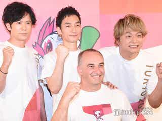 稲垣吾郎・香取慎吾・草なぎ剛の活動に感謝 1年後の東京パラリンピック開催に向けて意気込み語る「心を一つにして3人で…」