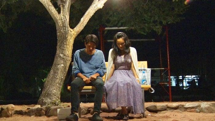 トム、桜子「あいのり:Asian Journey」シーズン2第20話より(C)フジテレビ
