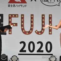 大倉士門、みちょぱ/2020年9月撮影(C)モデルプレス