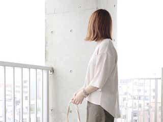 【ワッフル素材アイテム】でサラリと爽やかな夏コーデ12選 白でも透けにくくてインナーいらず!
