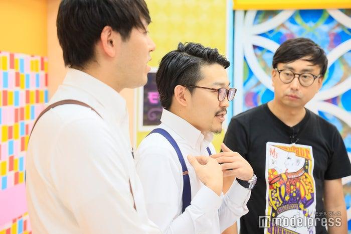 (中央)オズワルド・伊藤俊介