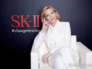 ケイト・ブランシェット「女優を辞めたいと思う時も」人生の転機&美の秘訣を語る モデルプレスインタビュー