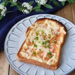 和洋ミックス!「明太だし巻き卵トースト」の作り方