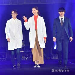 岡崎紗絵、新木優子、矢本悠馬 (C)モデルプレス