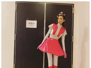 桐谷美玲、ほっそり美脚際立つ宇宙人コスプレに反響