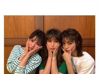 石川恋&E-girls楓&トラウデン直美、CanCam美女の無邪気にはしゃぐ動画に「超可愛い」「仲良すぎ」の声