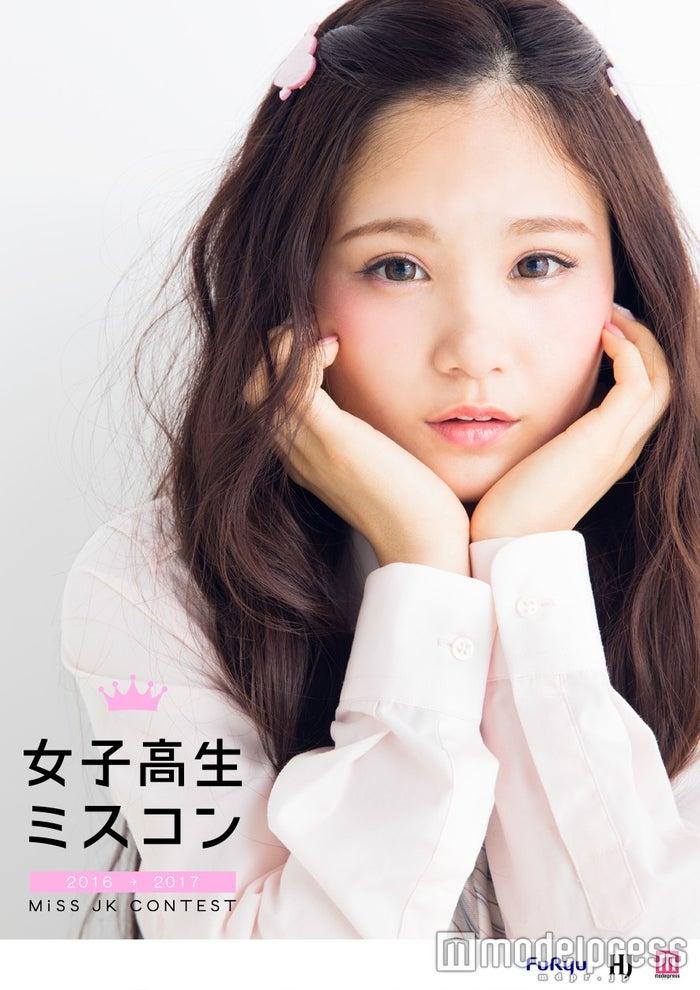 """「女子高生ミスコン2016‐2017」/モデル:第1回・準グランプリ""""まゆ""""こと神里真優"""