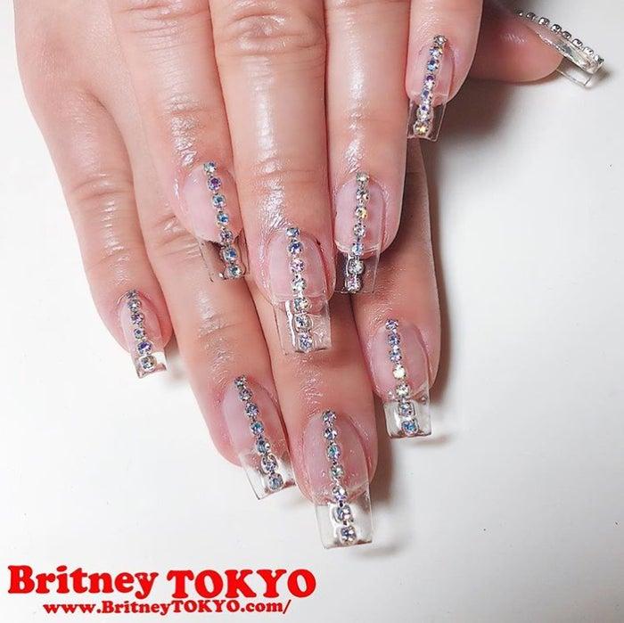 クリアネイル/画像提供:Britney TOKYO