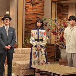 リリー・フランキー、池田エライザ、秦基博(C)NHK