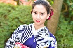 河北麻友子、四冠獲得は「がんばってきたことが賞に結びついた」 モデルプレスインタビュー