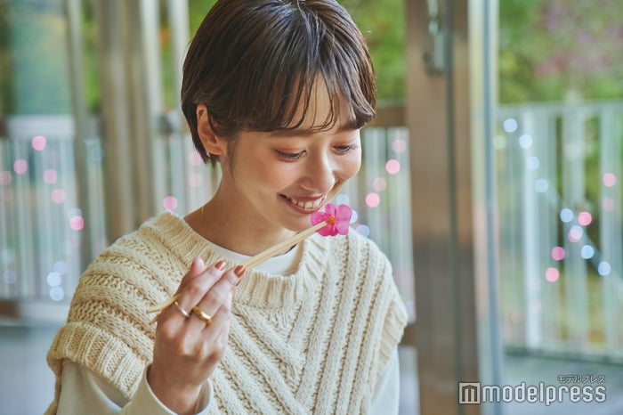 食べられるお花・エディブルフラワーは香りも華やかで楽しめる(C)モデルプレス