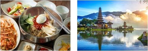 ソウル、バリ島/画像提供:AAE Japan