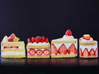 ショートケーキは断面で選ぶ!美しすぎる断面の「ショートケーキ」4選