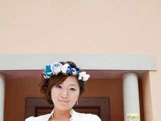 ビッグダディ役は? 美奈子、純白ドレスで映画デビュー