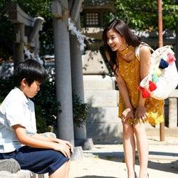 (左から)鈴木福、朝比奈彩(画像提供:関西テレビ)