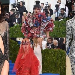 目を奪われる個性派ドレスアップが続々!リアーナ、ケイティ・ペリー…「MET GALA 2017」が今年も凄かった