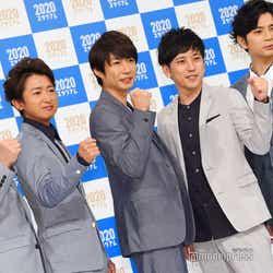 嵐(左から)櫻井翔、大野智、相葉雅紀、二宮和也、松本潤(C)モデルプレス