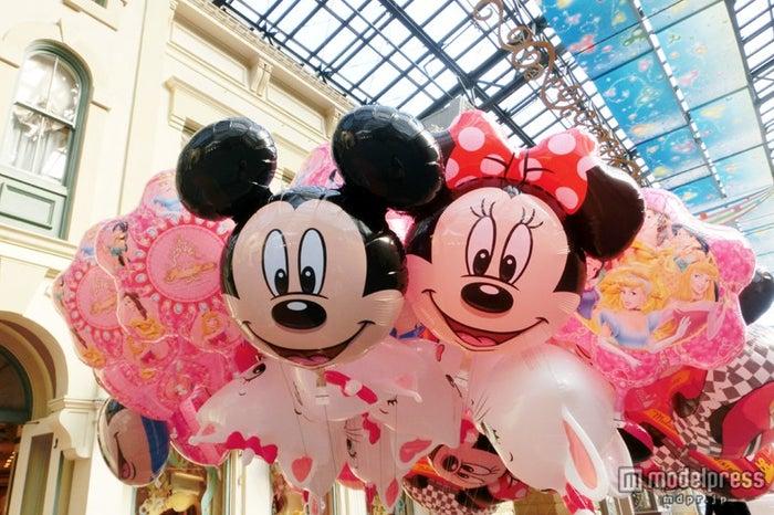 ミッキー&ミニーのバルーン