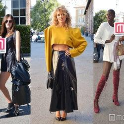「ミラノファッションウィーク」のお洒落上級者はレベルが違う!今すぐ真似したいファッショニスタの秋冬コーデ