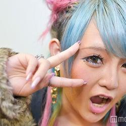 日本一の大学サークルミスコン、派手髪レインボーギャルを発見!いったい何者?直撃した<ミスサークル2017>