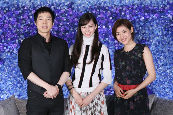 (左から)今田耕司、中条あやみ、瀧本美織/画像提供:日本テレビ