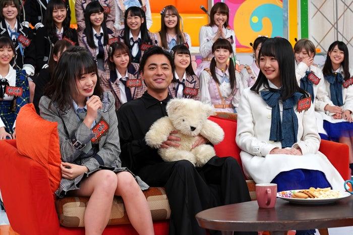 横山結衣、山田孝之、石田千穂 (C)日本テレビ