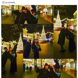 モデルプレス - 山田優&西山茉希、変装なしでディズニー満喫「子供以上にはしゃぐ親2人」に反響