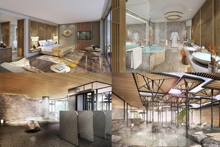 客室&大浴場イメージ/画像提供:GHS別府株式会社 別府ホテル事業所