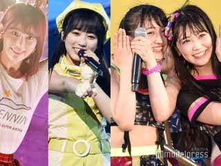 HKT48宮脇咲良&矢吹奈子&NMB48白間美瑠&山本彩加でユニット結成 「博多難波最強ユニット」と話題に<AKB48じゃんけん大会>